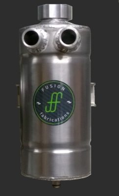 Aluminium oil catch tank
